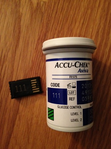 chip Accu-Chek® Aviva